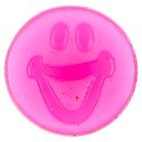 糖果胶粘的面带笑容 库存图片