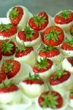 糖果草莓 免版税库存图片