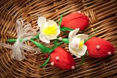 糖果,莓果花束  免版税图库摄影