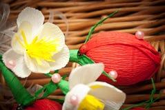 糖果,莓果花束  库存照片