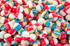 糖果-五颜六色的孩子糖果 图库摄影