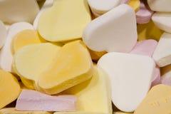 糖果1华伦泰心脏 库存图片