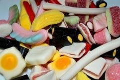糖果 混杂的糖果 免版税库存图片