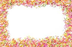 糖果洒 免版税库存图片