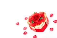 糖果giftbox 库存照片