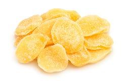 糖煮的姜 免版税库存图片
