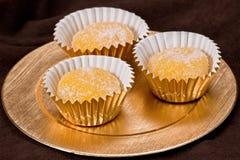 糖煮的蛋西班牙语甜点 图库摄影