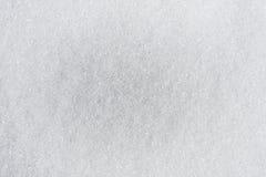 糖白色背景  免版税库存照片