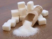 糖立方体 免版税库存照片