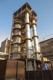糖精炼厂 免版税库存图片