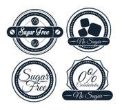 糖释放设计 免版税库存图片