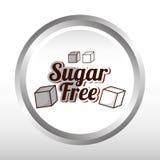 糖释放设计 库存照片