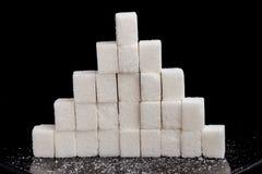 糖金字塔 免版税库存照片
