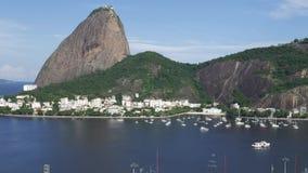 糖面包山和瓜纳巴拉湾Timelapse视图在里约热内卢,巴西 影视素材