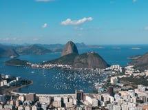 糖面包山-里约热内卢 库存照片