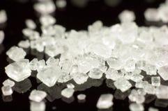 糖水晶。 免版税库存照片