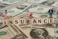 系列保险 免版税库存照片