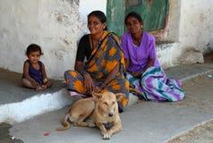 系列印地安人 库存照片