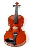 系列小提琴白色 库存照片