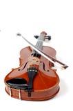 系列小提琴白色 库存图片