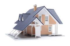 系列房子设计 库存图片