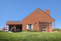 系列房子 免版税库存照片
