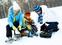 系列滑冰 免版税库存图片