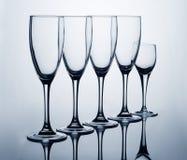 系列玻璃 免版税库存图片