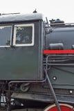 系列L的苏联主流货物蒸汽机车 在11月 库存照片