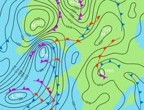 系统天气 库存图片