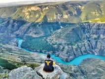 素拉峡谷, Dubki,俄罗斯 免版税库存图片