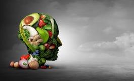 素食主义者和素食心理学 向量例证