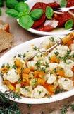 素食开胃菜和开胃小菜 库存图片