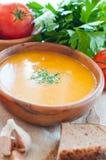 素食蔬菜汤 免版税库存图片