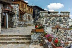 索佐波尔,保加利亚- 2016年7月16日:古老废墟在索佐波尔,布尔加斯地区老镇  免版税图库摄影