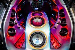索尼伴音系统 库存图片
