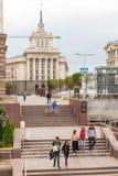 索非亚保加利亚夏天日常生活 图库摄影