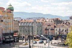 索非亚保加利亚狮子桥梁 免版税图库摄影