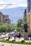索非亚保加利亚狮子桥梁 免版税库存照片