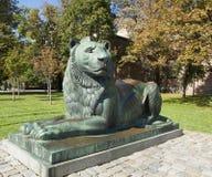 索非亚,保加利亚,对狮子的纪念碑 免版税库存图片