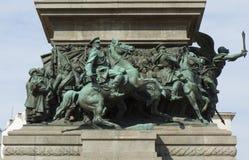 索非亚,保加利亚,纪念碑细节对国王liverator的 库存照片