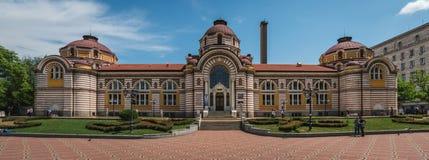 索非亚,保加利亚- 6 13 2018年:地方历史博物馆 免版税图库摄影