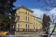 索非亚,保加利亚- 2018年3月17日:保加利亚东正教的圣洁宗教会议大厦在索非亚 库存图片
