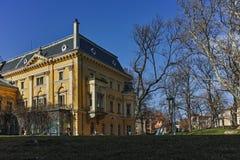 索非亚,保加利亚- 2018年3月17日:全国美术画廊王宫,索非亚大厦  库存图片