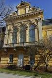 索非亚,保加利亚- 2018年3月17日:全国美术画廊王宫,索非亚大厦  免版税库存照片