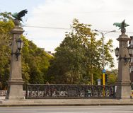 索非亚,保加利亚- 2017年10月09日:厄尔桥梁,在1891年修筑 免版税库存照片
