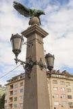 索非亚,保加利亚- 2017年10月09日:厄尔桥梁,在1891年修筑 库存照片