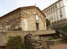 索非亚,保加利亚- 2017年10月08日:在14世纪建造的St佩特卡Samardgijskaya教会 库存照片