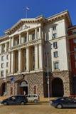 索非亚,保加利亚- 2018年3月17日:大臣会议大厦在市索非亚 库存照片