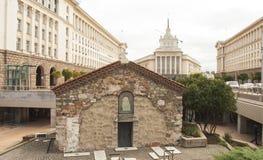索非亚,保加利亚- 2017年10月08日:14世纪St佩特卡Samardgijskaya教会  库存图片